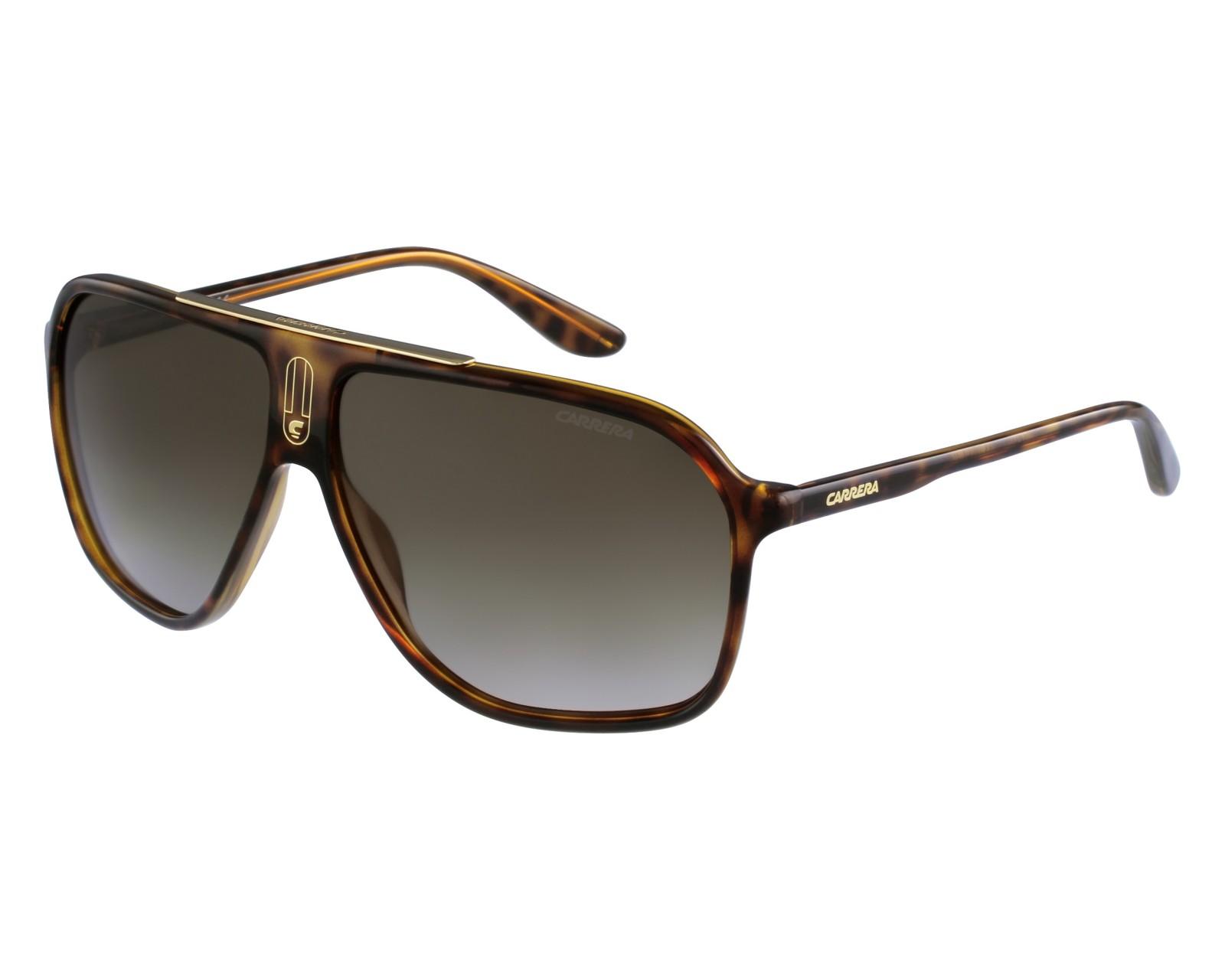 a8aa342348 Gafas de sol Carrera 6016-S DWJ/HA - Marrón vista de frente