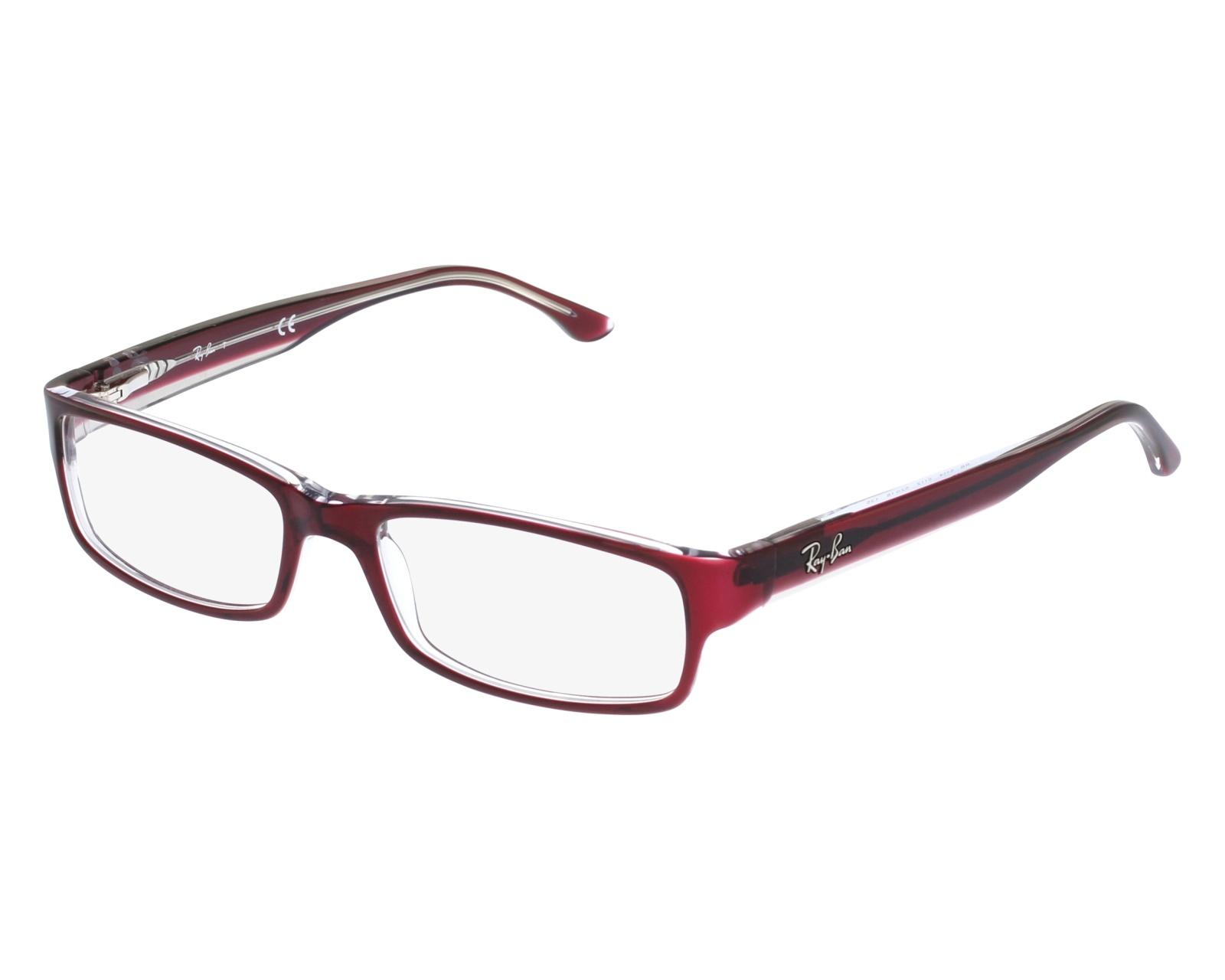 b0150f9134 Gafas Graduadas Ray-Ban RX-5114 5112 - Rojo vista de frente
