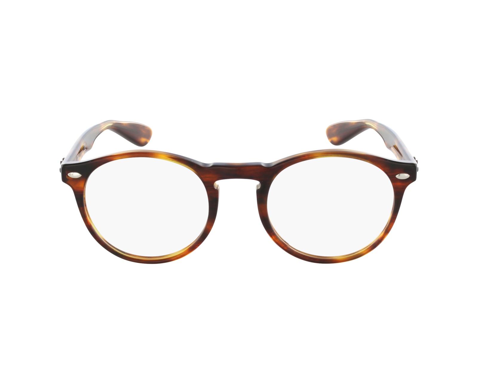 ec60e2fad1 Gafas Graduadas Ray-Ban RX-5283 2144 47-21 Marrón vista de perfil