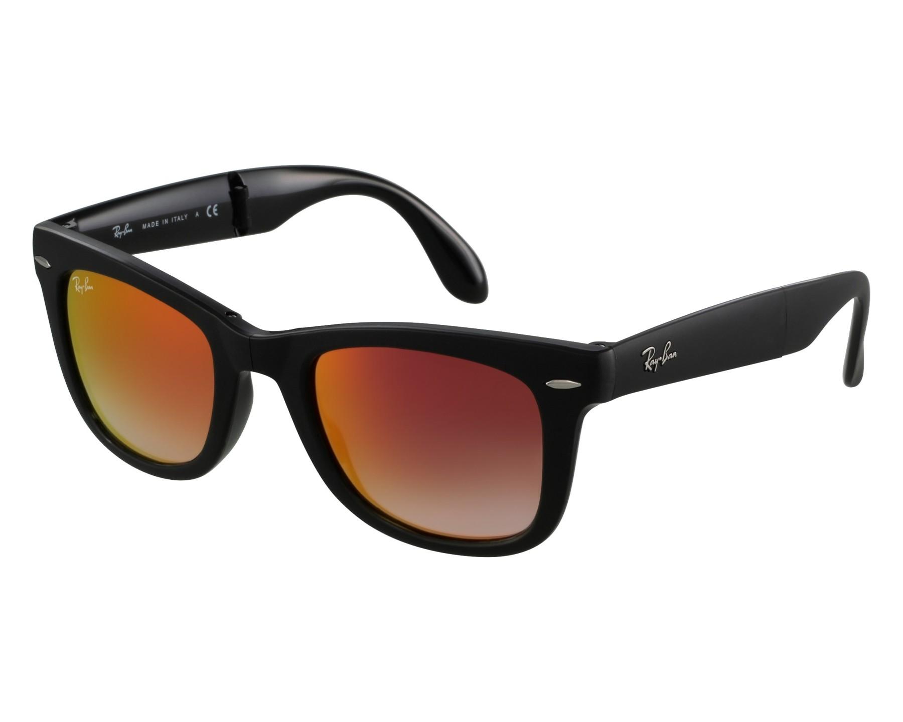 De 60694w Folding Ray Ban 4105 Rb Sol Classic Gafas Wayfarer 29HEDWI