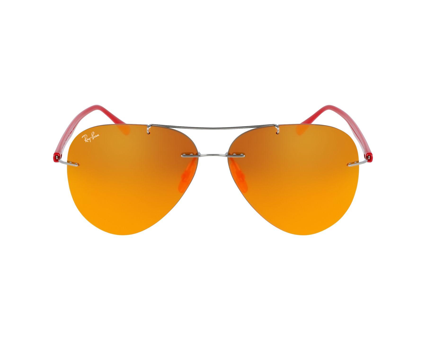 a3866db6d3904 Gafas de sol Ray-Ban RB-8058 159 6Q 59-13 Plata