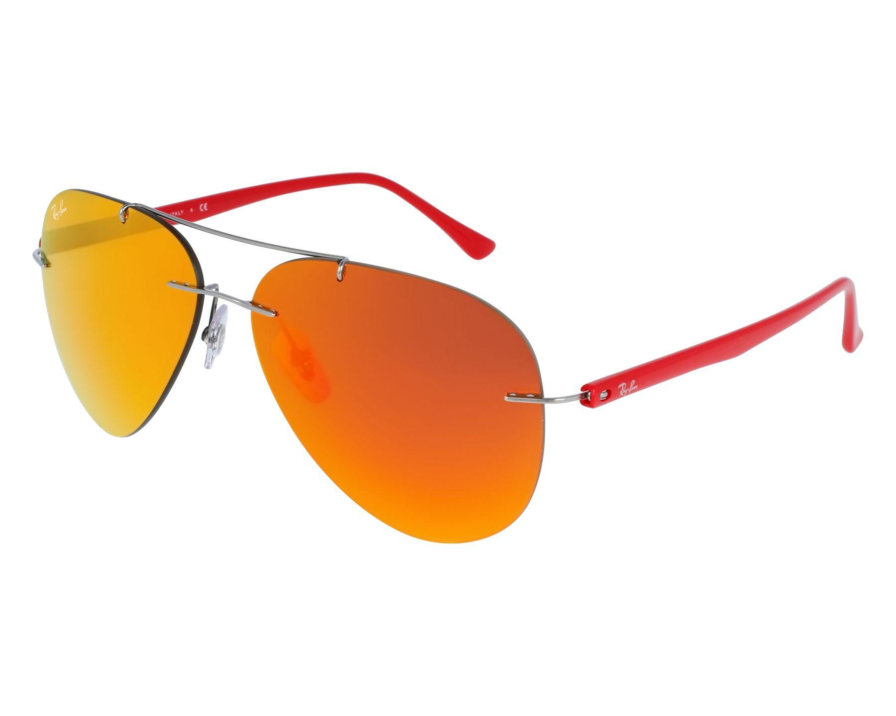 2f7be72bfa Gafas de sol Ray-Ban RB-8058 159/6Q 59-13 Plata