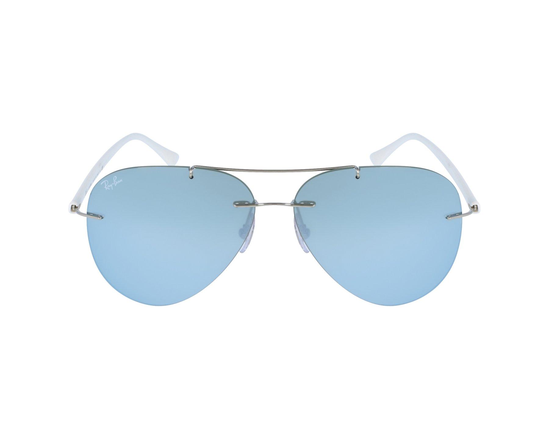 d17c467a6e Gafas de sol Ray-Ban RB-8058 003/30 - Plata Blanco vista