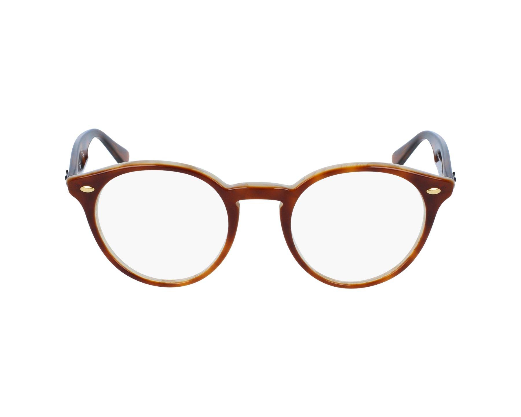 10c01ae68e256 Gafas Graduadas Ray-Ban RX-2180-V 5677 47-21 Marrón Havana