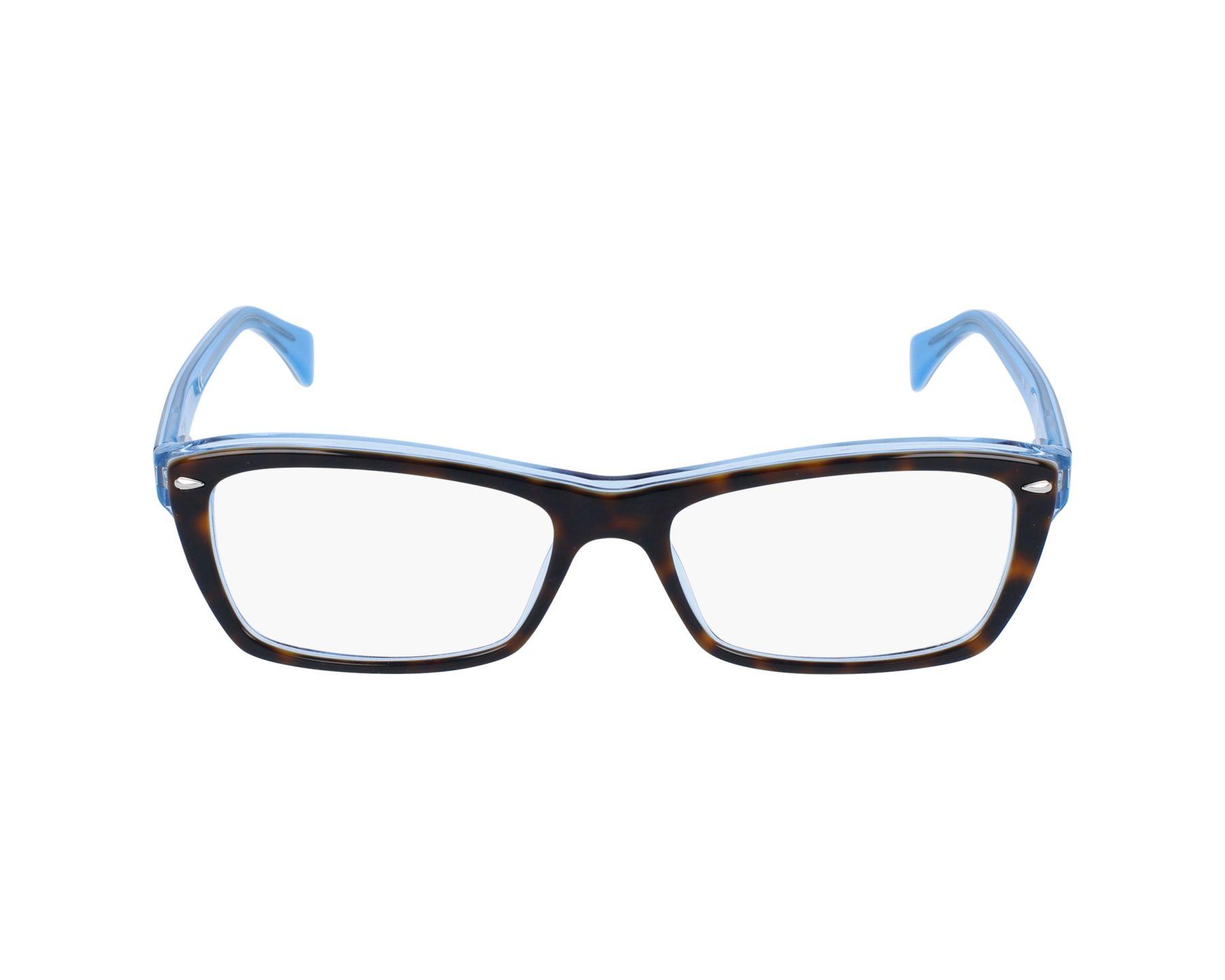4dbb341316 Gafas Graduadas Ray-Ban RX-5255 5023 51-16 Havana Azul vista de