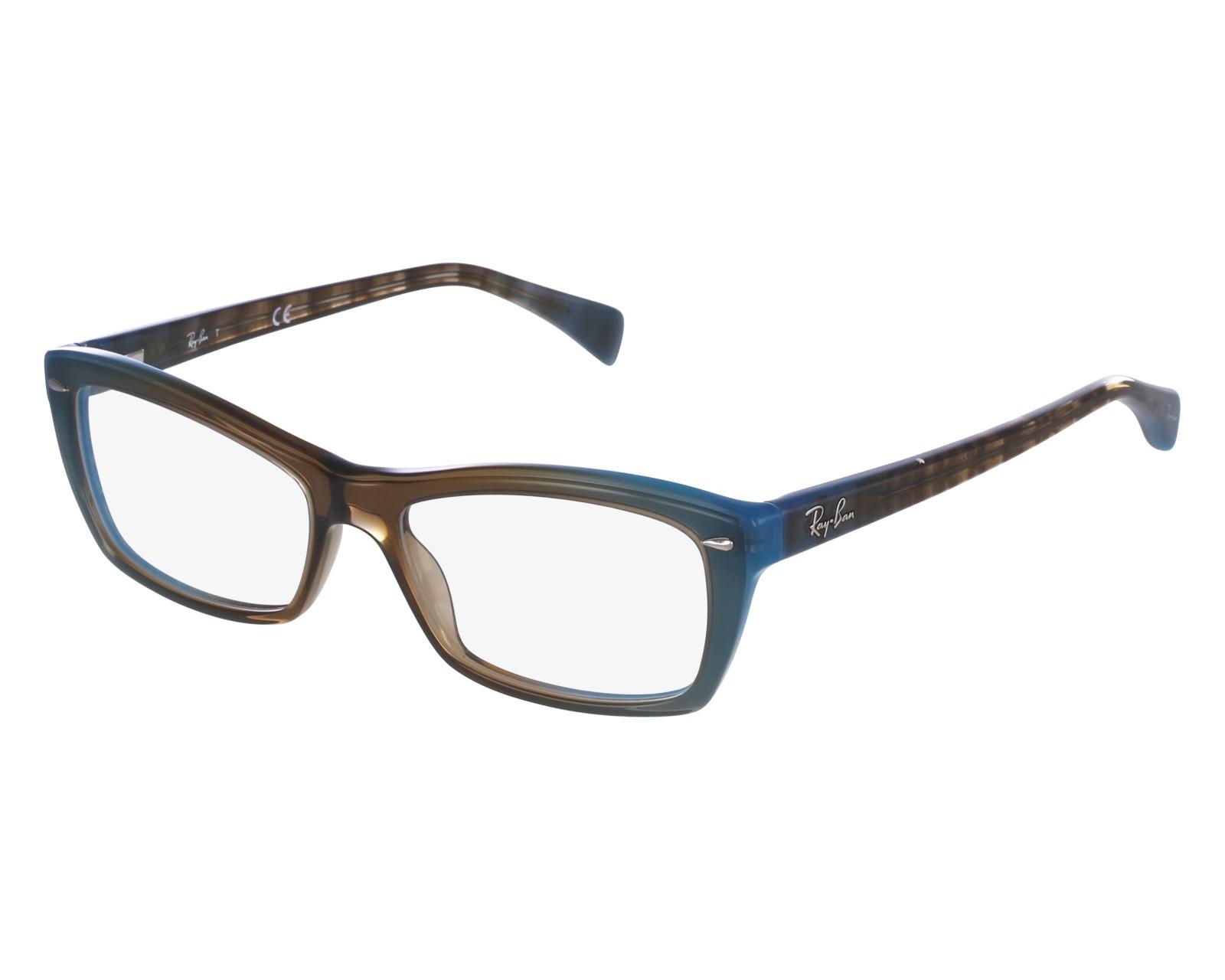 99fcff671c Gafas Graduadas Ray-Ban RX-5255 5490 - Turquoise Marrón vista de frente