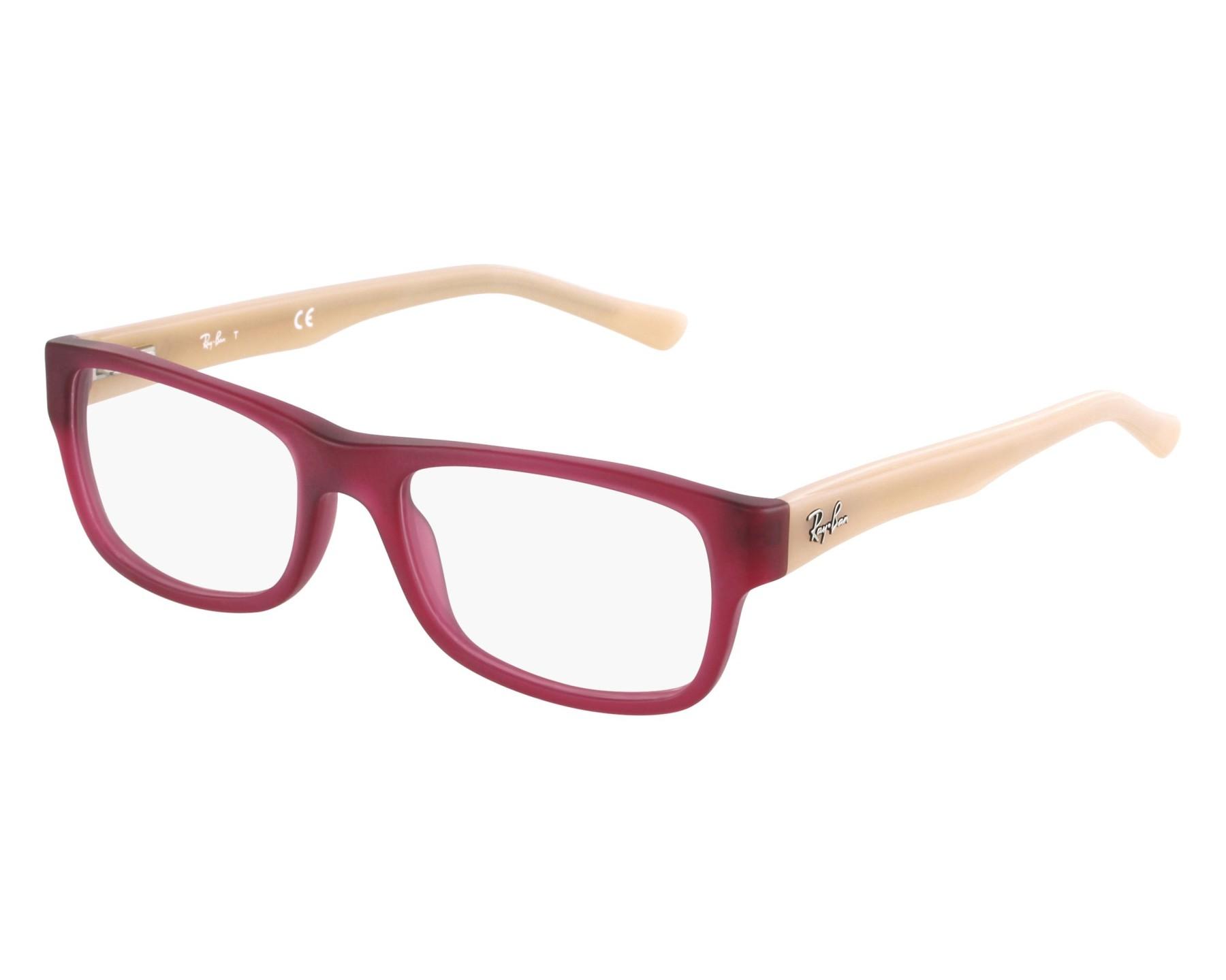 b238b77a8049a Gafas Graduadas Ray-Ban RX-5268 5553 - Frambuesa Rosa vista de frente