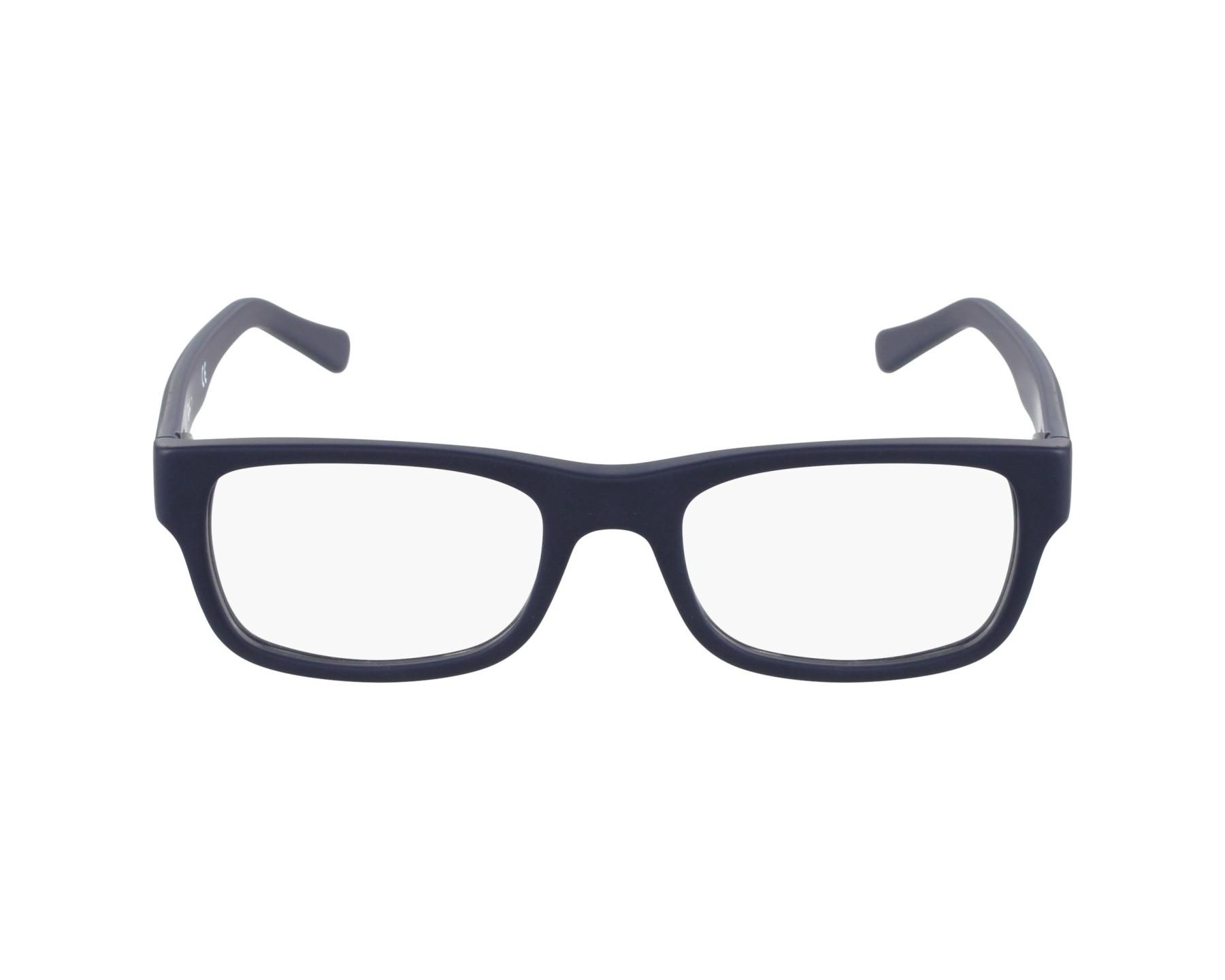 7bc677b7aa634 Gafas Graduadas Ray-Ban RX-5268 5583 50-17 Azul vista de perfil