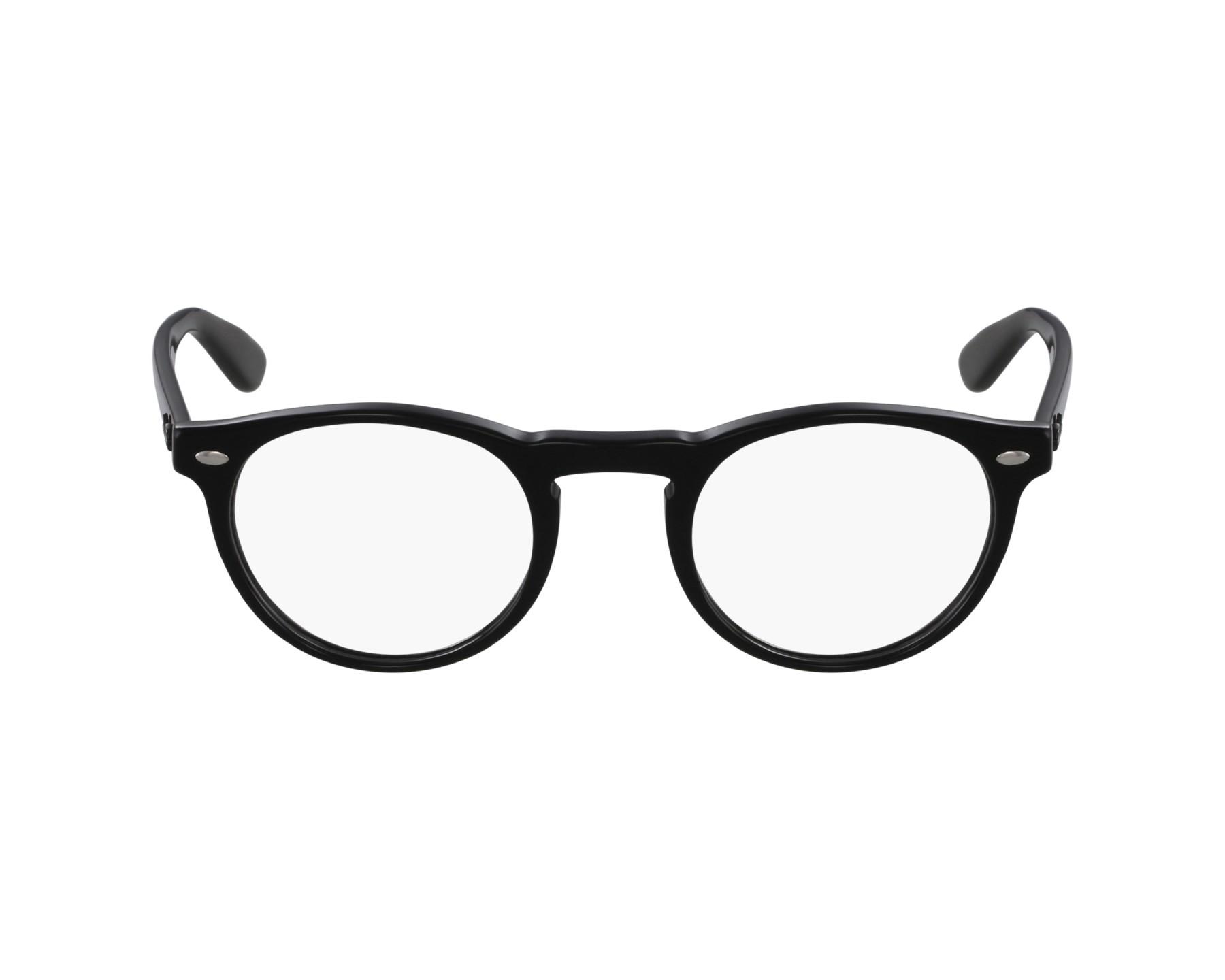 b70a0cdda9 Gafas Graduadas Ray-Ban RX-5283 2000 47-21 Negra vista de perfil