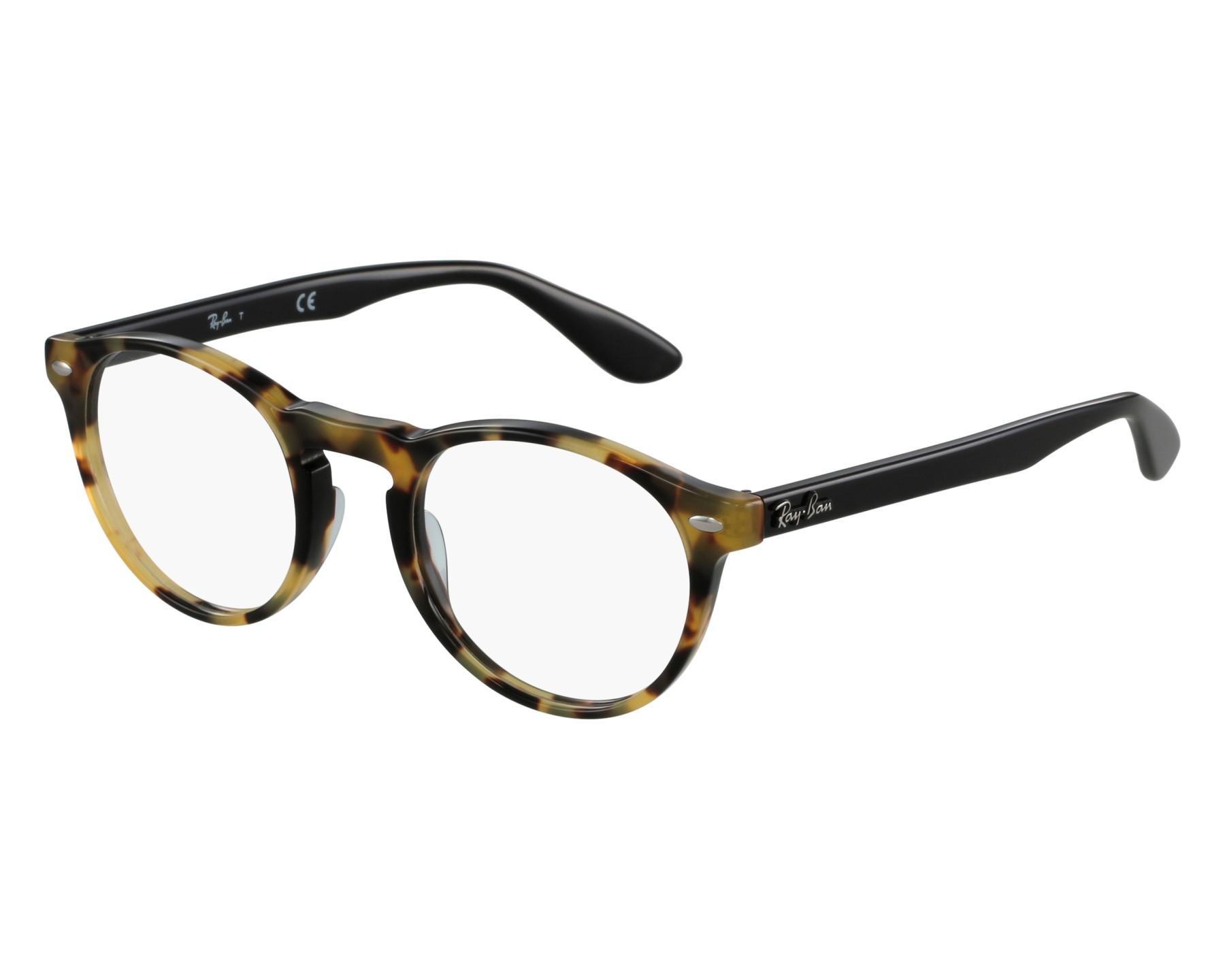 2d9f60ee42 Gafas Graduadas Ray-Ban RX-5283 5608 49-21 Havana Miel Negra vista