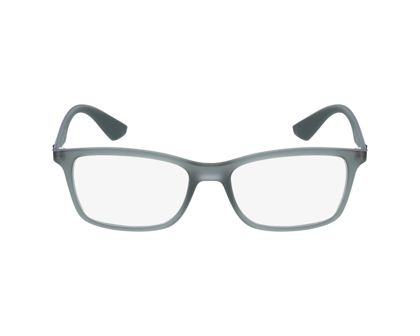 a58a2b71e6 Gafas Graduadas Ray-Ban RX-7047 5482 54-17 Gris vista de perfil