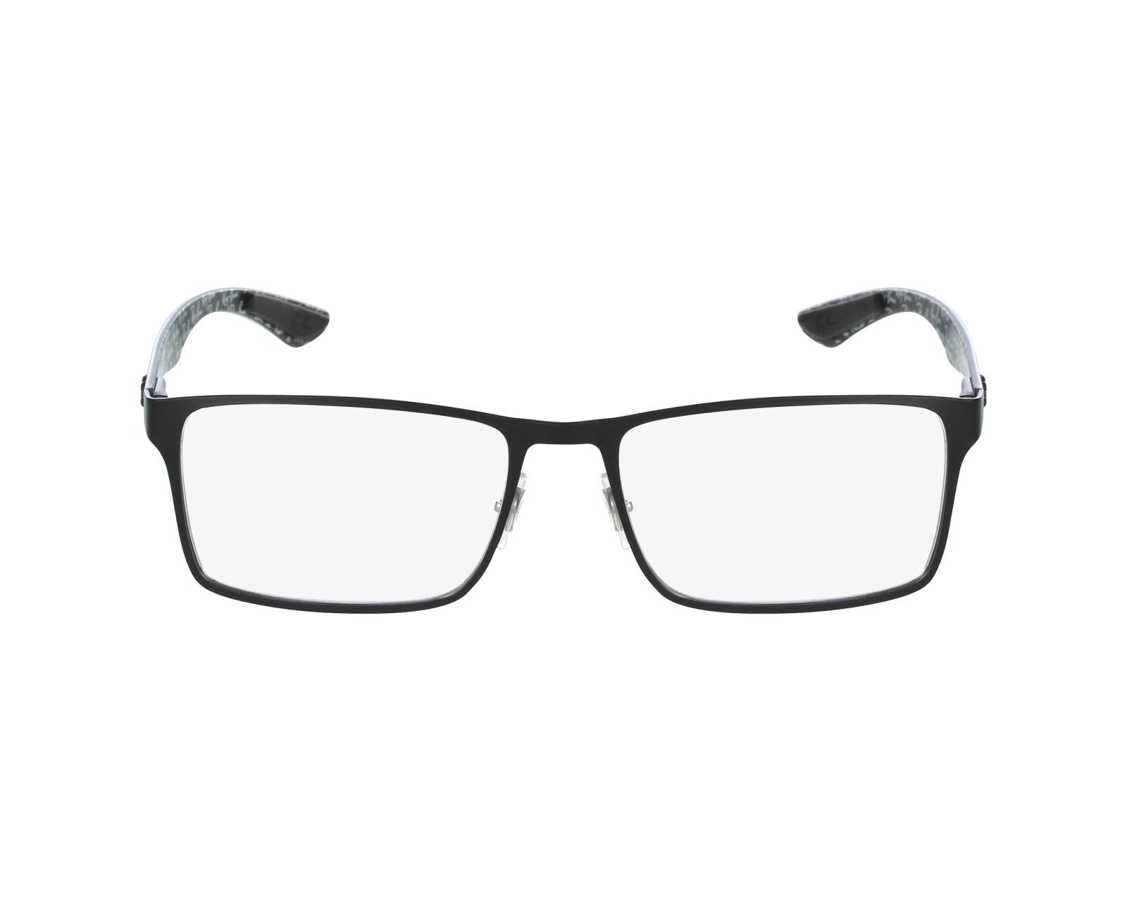 2b522cc4e5 Gafas Graduadas Ray-Ban RX-8415 2848 53-17 Negra vista de perfil