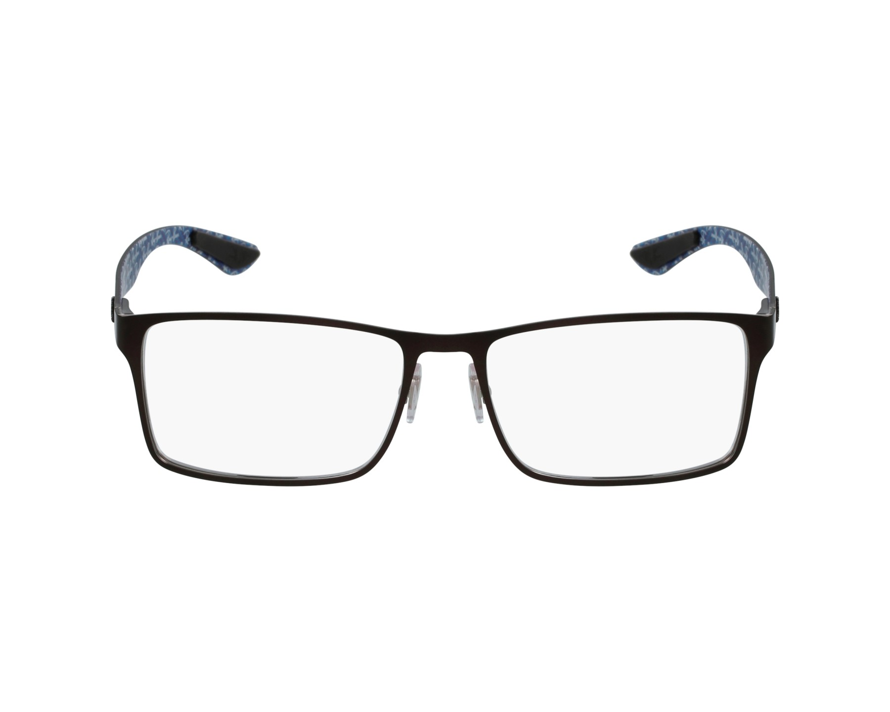 3fc6736c7e Gafas Graduadas Ray-Ban RX-8415 2862 53-17 Marrón Negra vista de