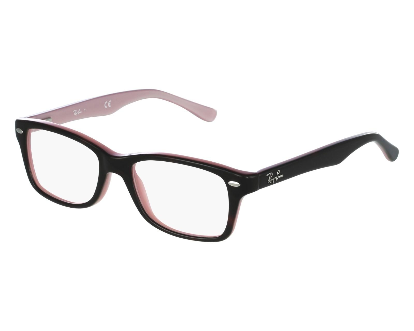 2d22030230 Gafas Graduadas Ray-Ban RY-1531 3580 48-16 Negra Rosa vista de