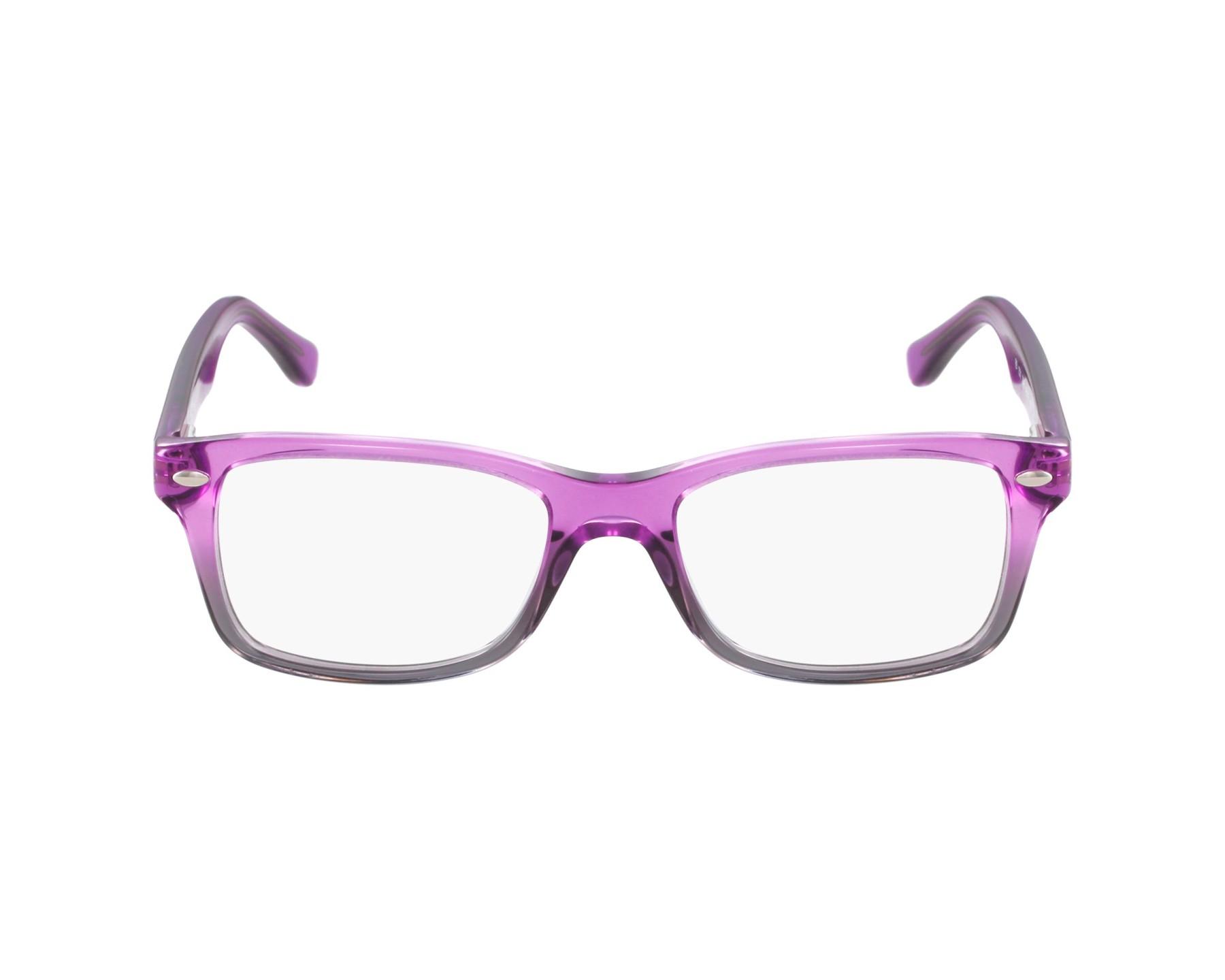 eb09a9bf61 Gafas Graduadas Ray-Ban RY-1531 3646 - Lila Purpura Gris vista de perfil