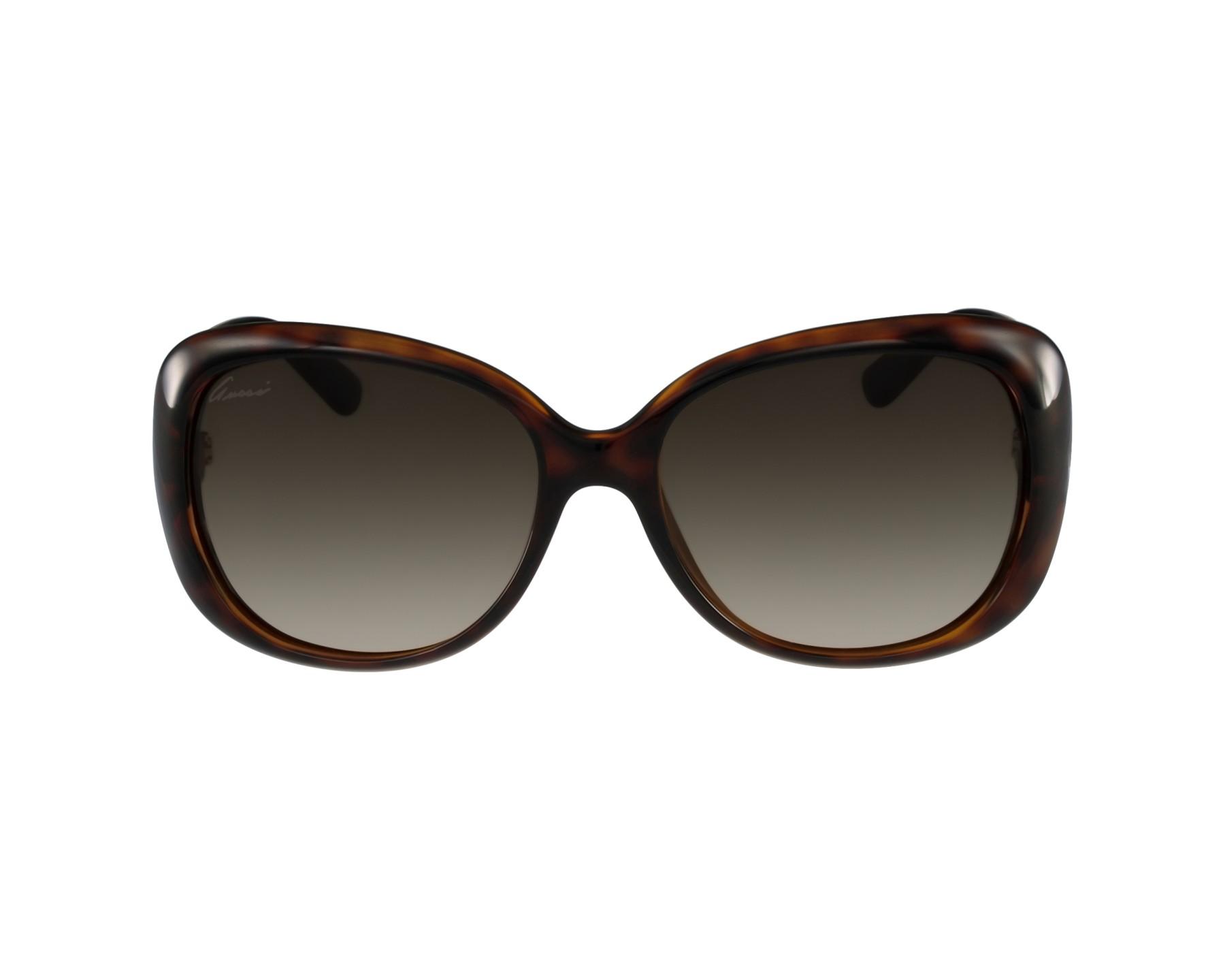 36b67351c3 Gafas de sol Gucci GG-3644-S DWJ/HA - Havana vista de