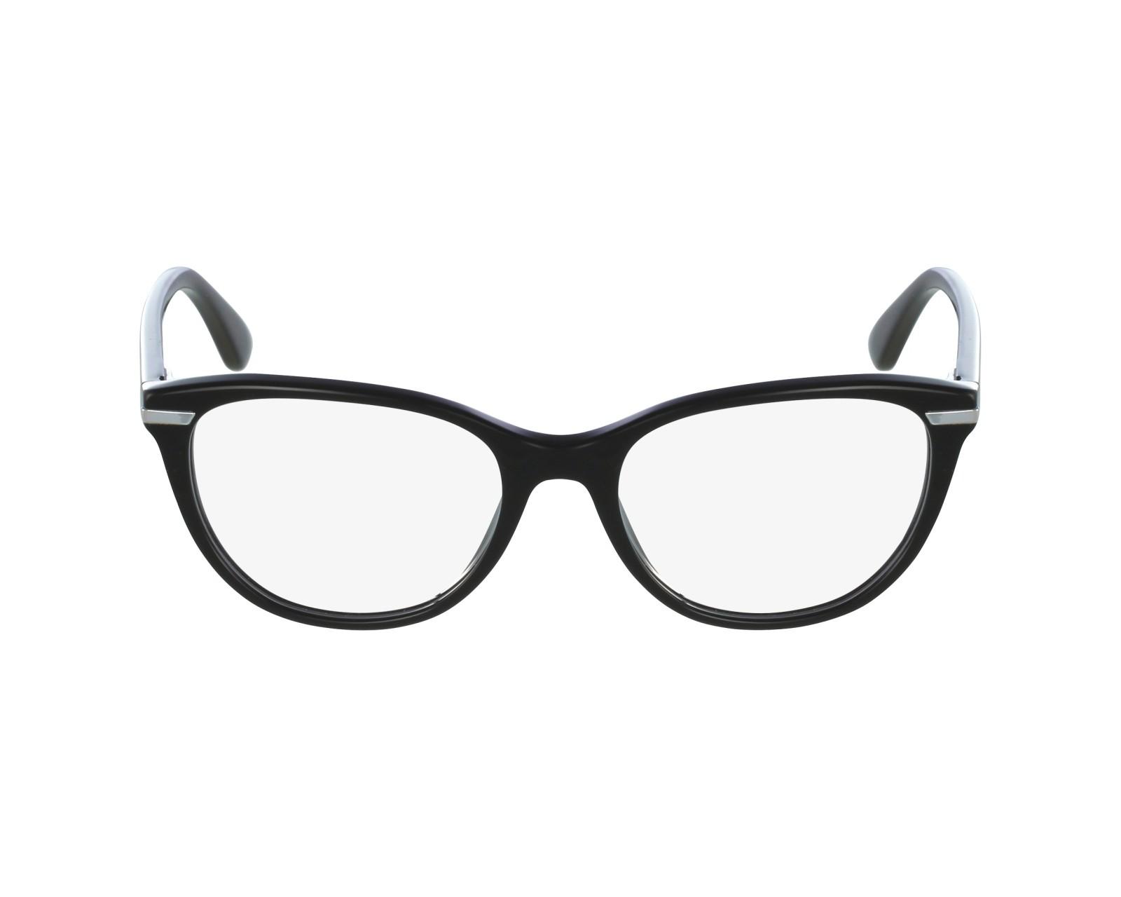 3e83ce0b77 Gafas Graduadas Vogue VO-2937 W44 51-17 Negra Plata vista de perfil