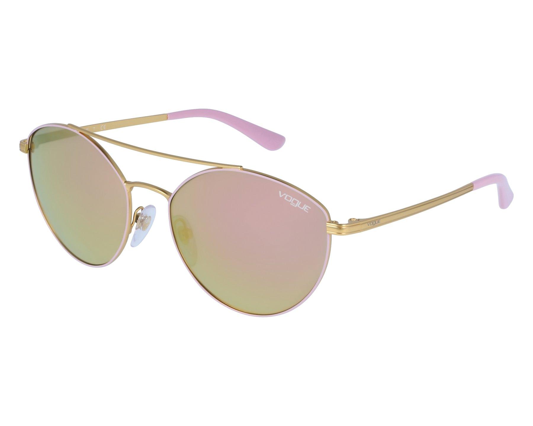 2342a6f658 Gafas de sol Vogue VO-4023-S 50245R 56-18 Rosa Oro vista