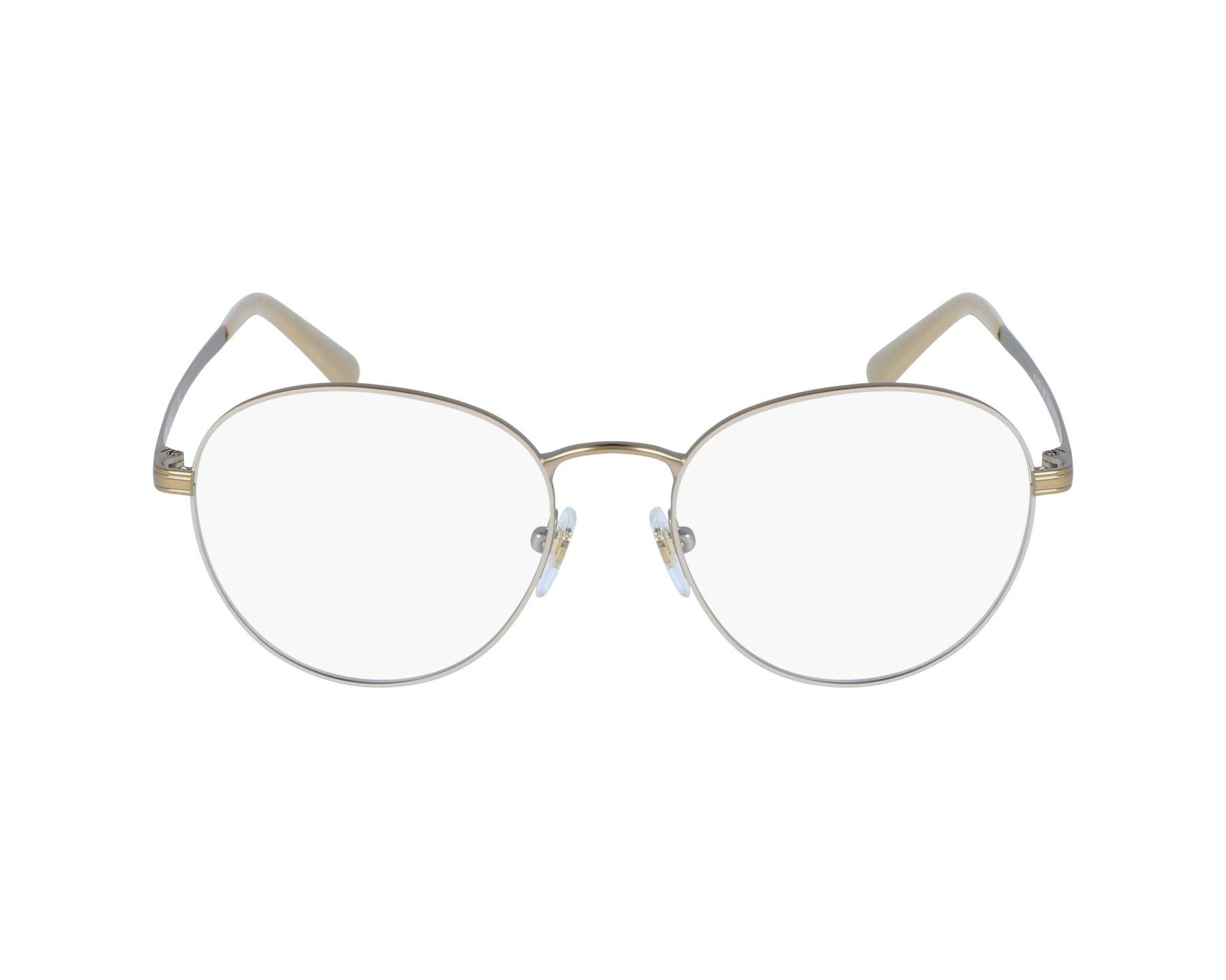 5a4e250289 Gafas Graduadas Vogue VO-4024 996 50-18 Beige Oro vista de perfil