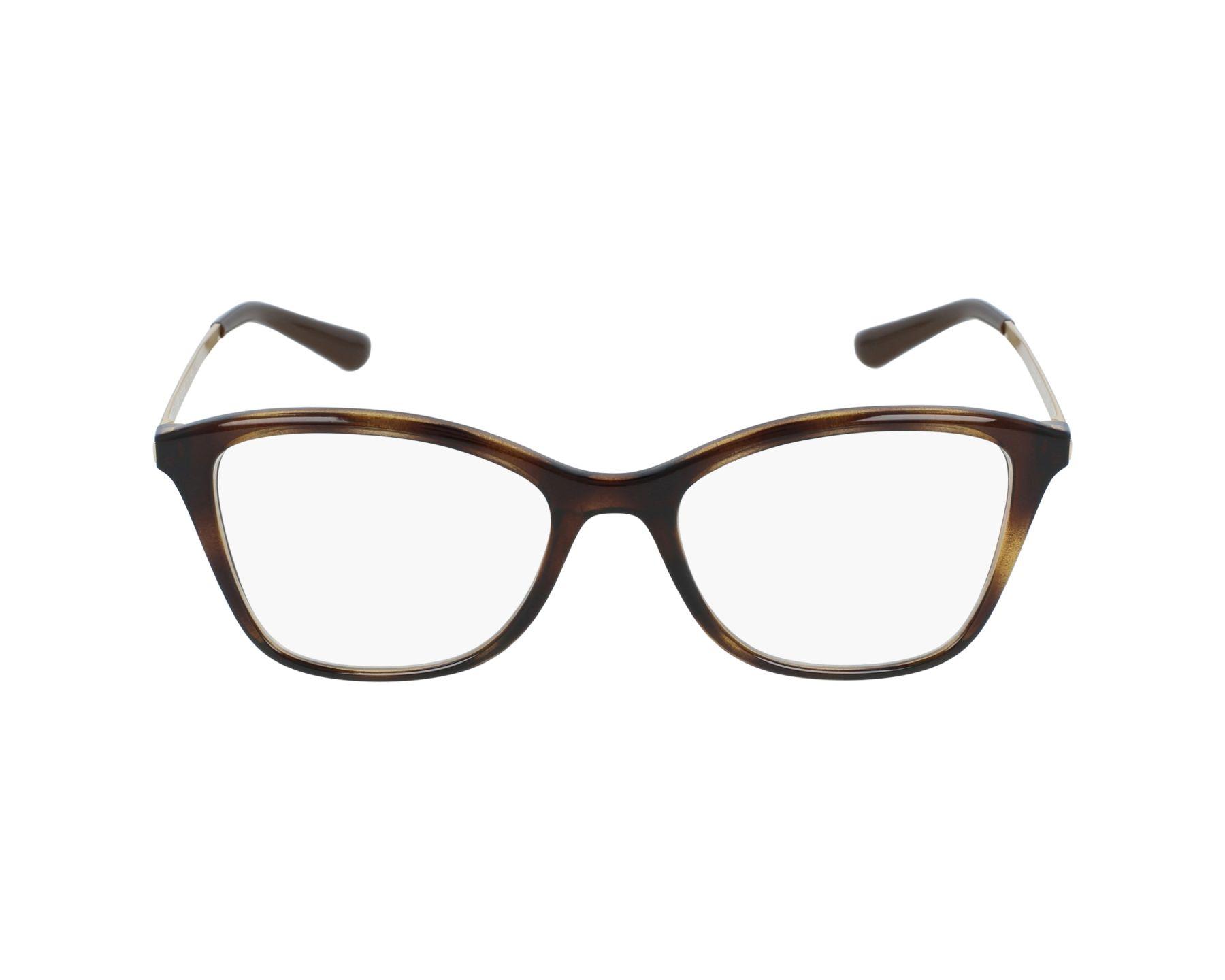 a60df09ed5 Gafas Graduadas Vogue VO-5152 W656 - Havana Oro vista de perfil