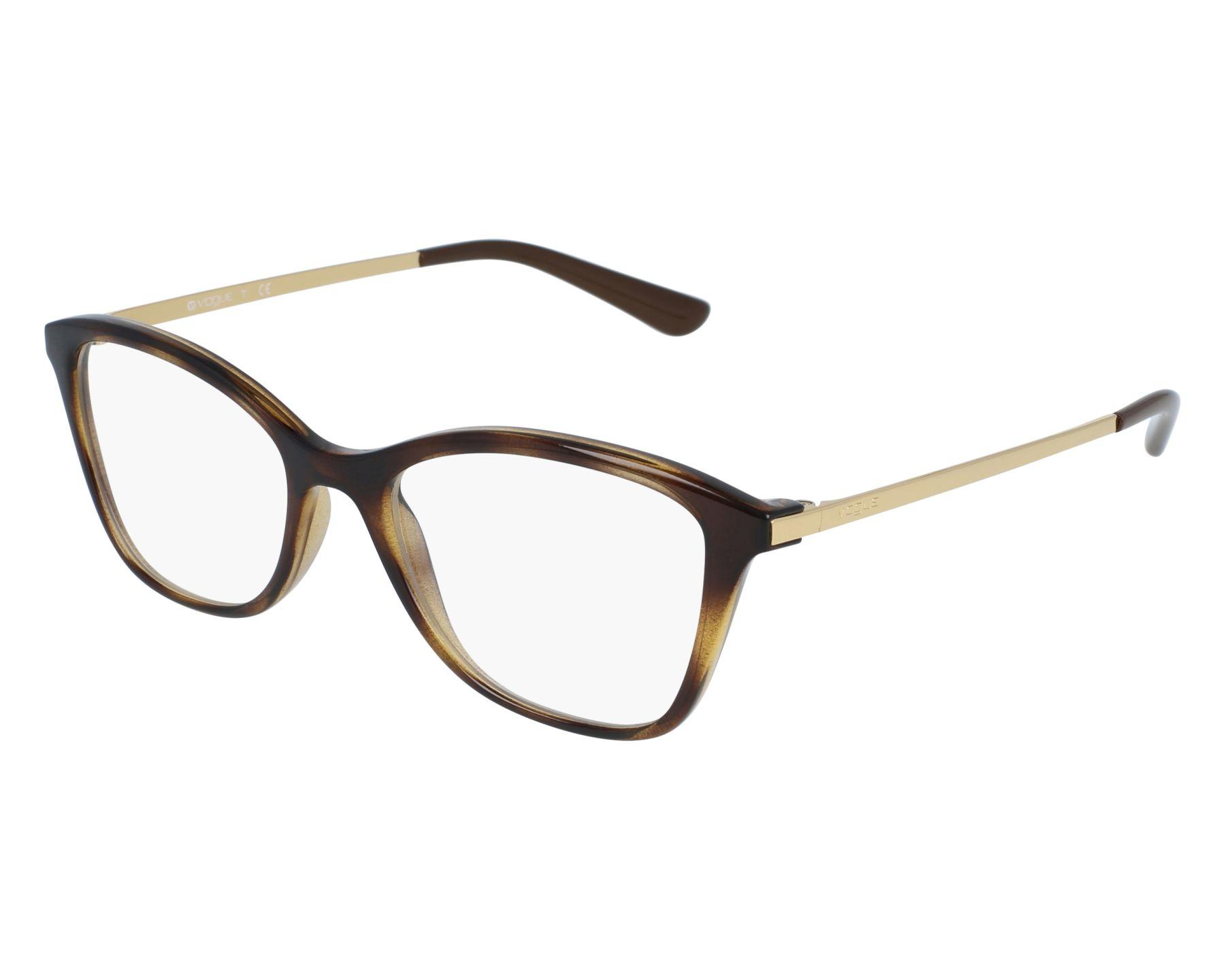ce7154d706 Gafas Graduadas Vogue VO-5152 W656 - Havana Oro vista de frente
