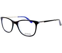 d650fd9ce8 Gafas Graduadas Guess GU-2566 001 49-17 Negra Azul