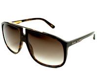Gafas de sol Marc Jacobs MJ-252-S 086 JS 60-13 Havana   Marrón 777aa57ab7