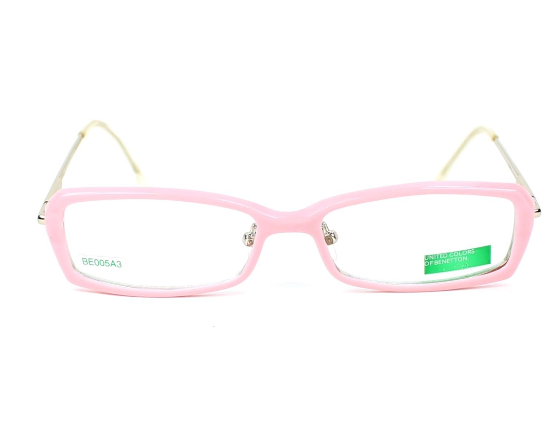 1296244be9 Gafas Graduadas Benetton BE-005 A3 - Rosa Oro vista de frente