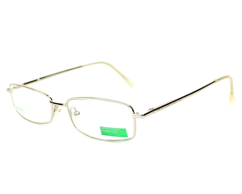 a90fdfc8cf Gafas Graduadas Benetton BE-005 A5 51-15 Negra Plata vista de frente
