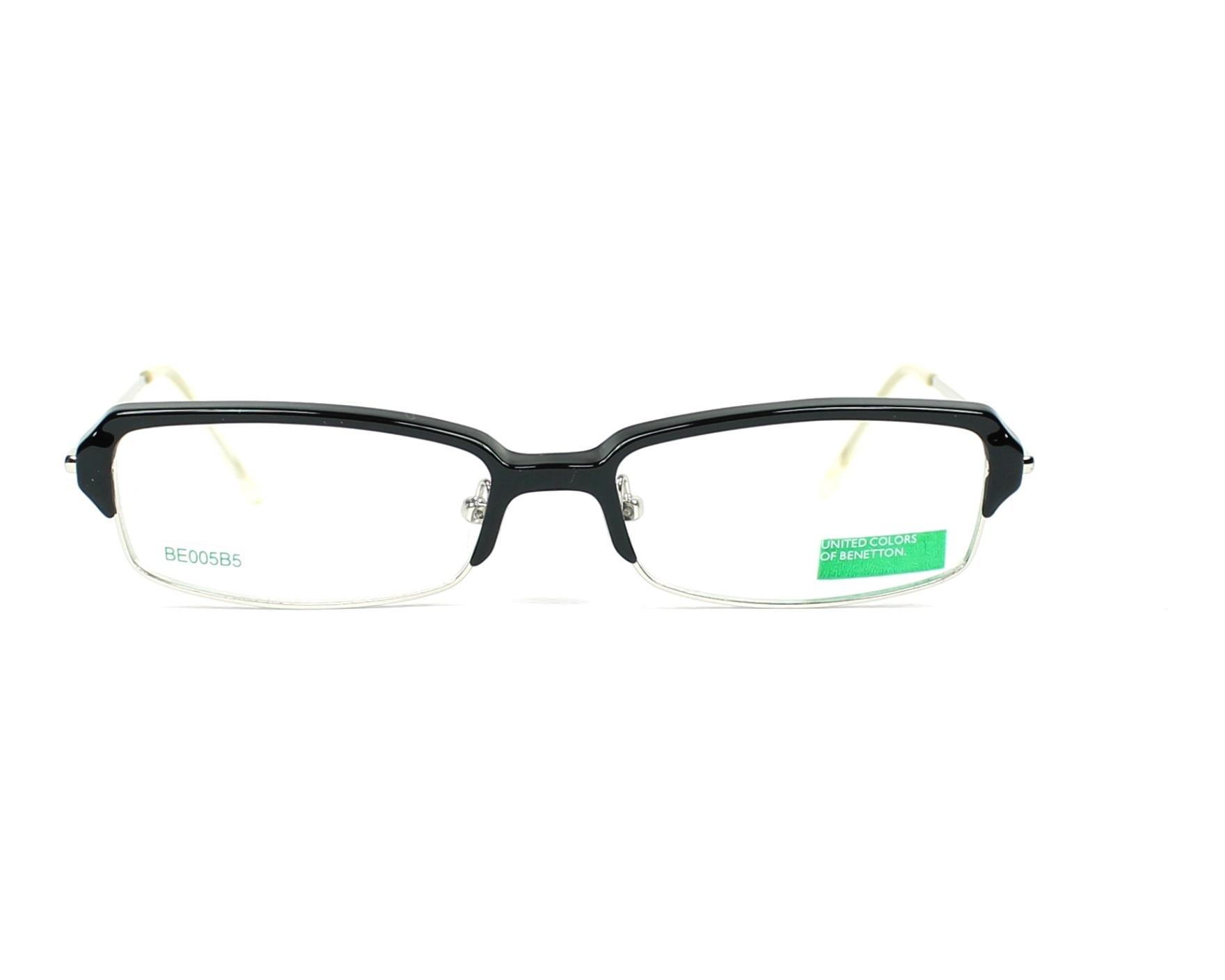 1a839075a0 Gafas Graduadas Benetton BE-005 B5 51-15 Negra Plata