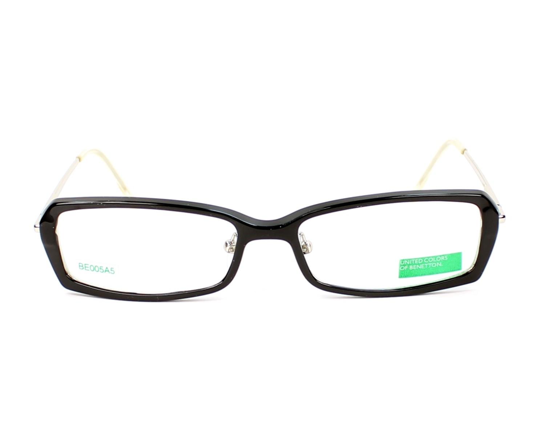 606e63d0b3 Gafas Graduadas Benetton BE-005 B5 51-15 Negra Plata otra vista