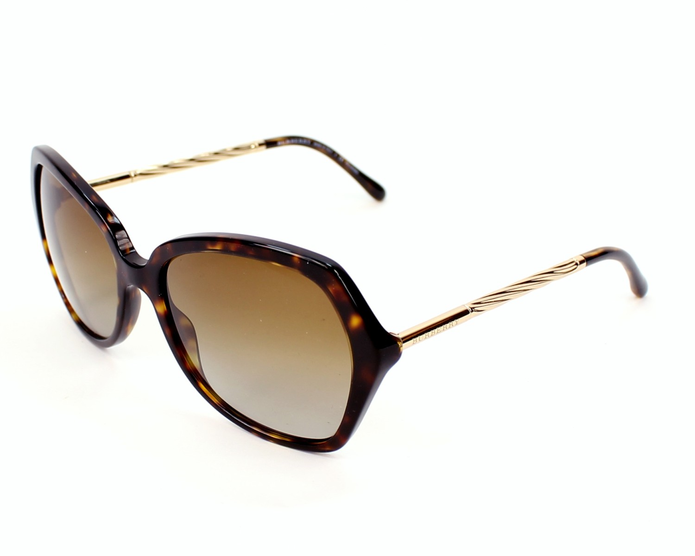 7e2b4f4214 Gafas de sol Burberry BE-4193 3002/T5 57-17 Havana Oro vista