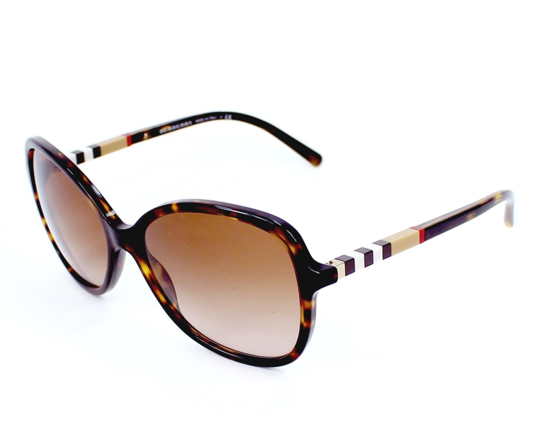 f7be43906c Gafas de sol Burberry BE-4197 3002/13 58-16 Havana vista de