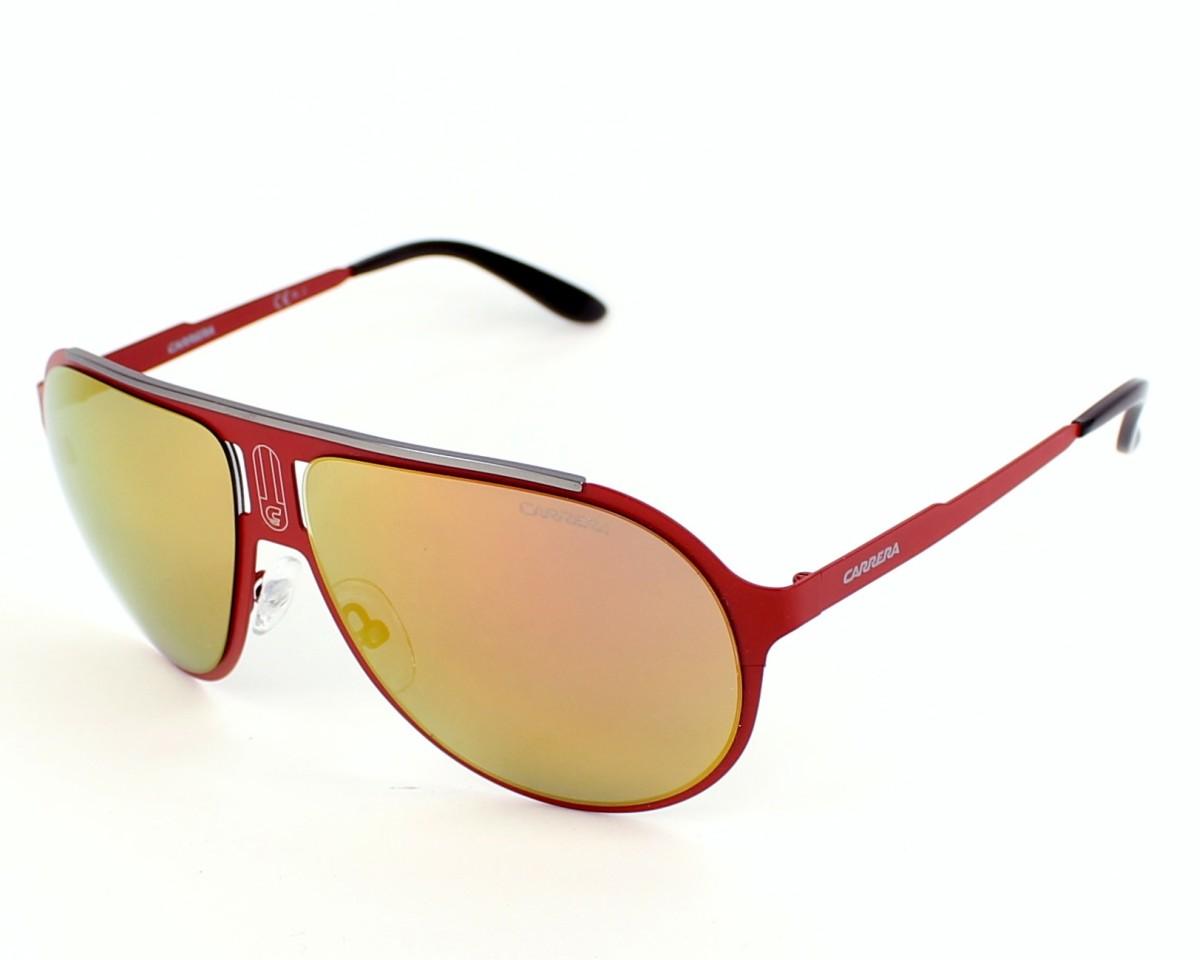 4dcef8f22a previsualización Gafas de sol Carrera CHAMPION-MT 9EB/UW - Rojo vista de  perfil