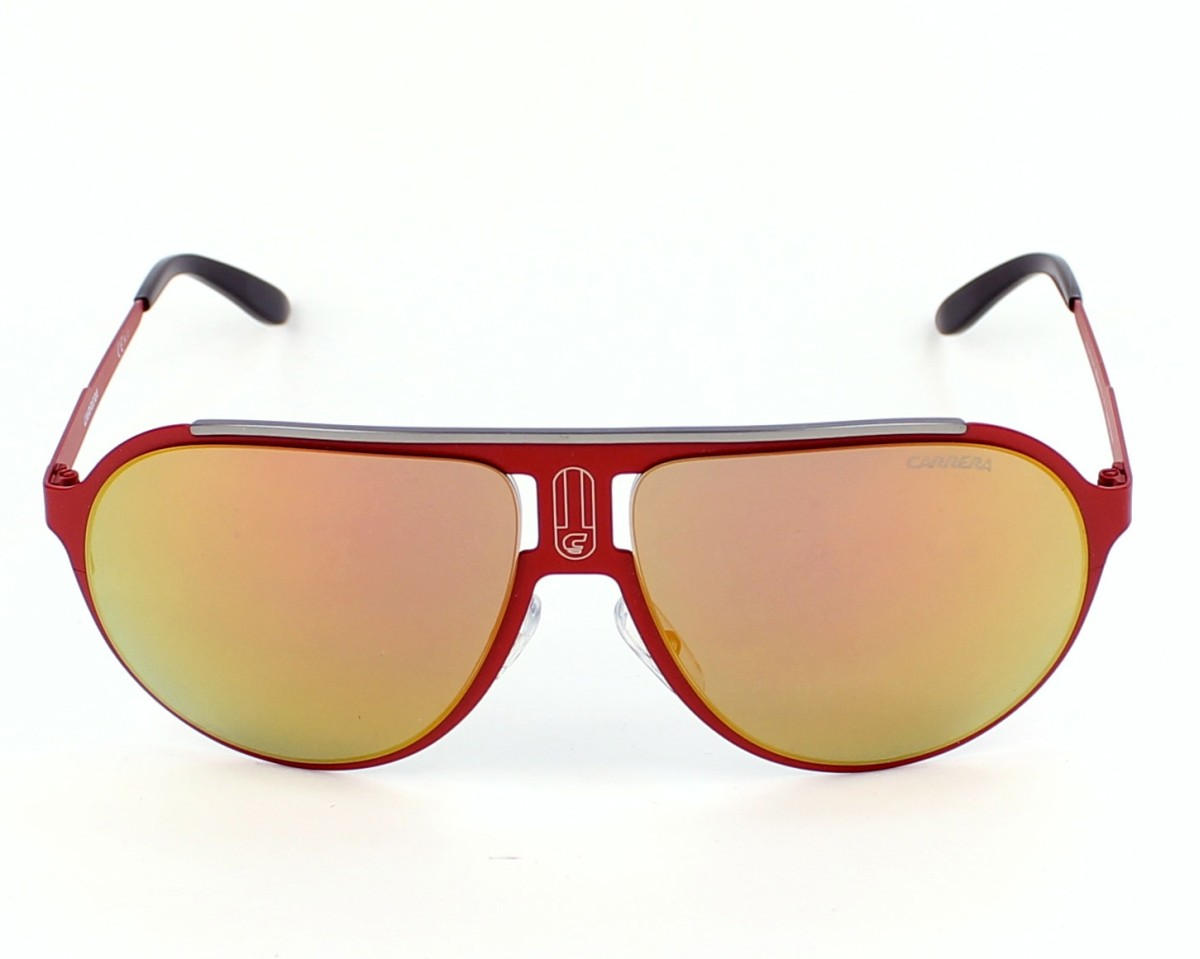 c0629cb93a previsualización Gafas de sol Carrera CHAMPION-MT 9EB/UW - Rojo vista de  frente