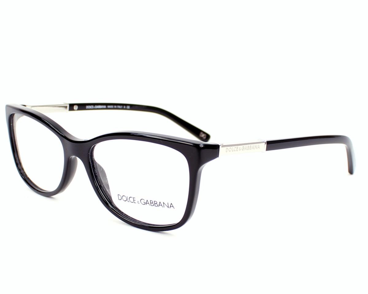 c39d1c2059 Gafas Graduadas Dolce & Gabbana DG-3107 501 52-15 Negra Oro vista de