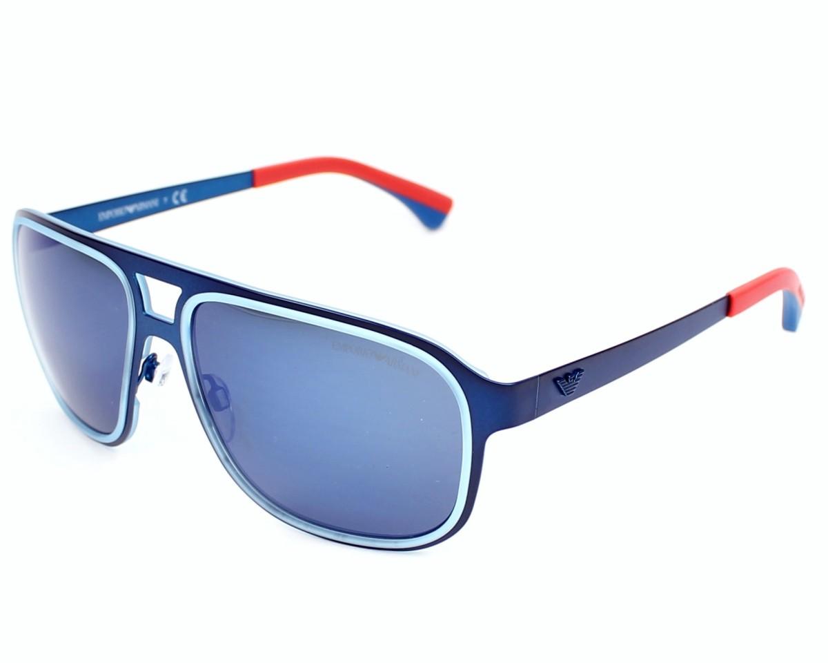 e9643691c7 Gafas de sol Emporio Armani EA-2012 3042/96 - Azul Naranja vista de