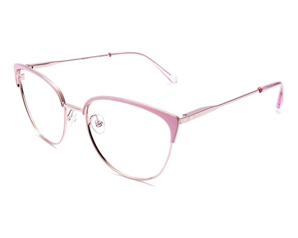 2a2a89e716 Gafas Graduadas Etnia Barcelona RIGA PK 55-18 Rosa Oro cobre vista de perfil