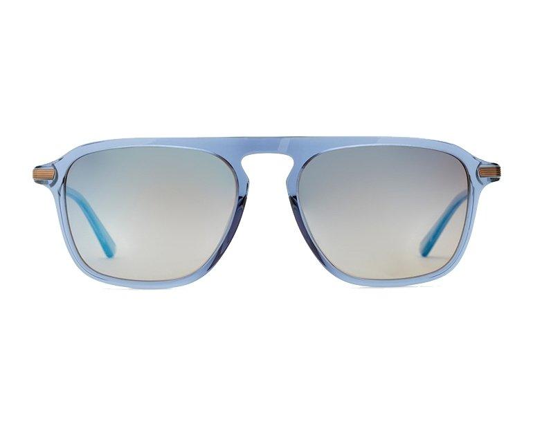 31c3d8af95 Gafas de sol Etnia Barcelona RODEODRIVE BLGD 54-17 Azul Bronce vista de  frente