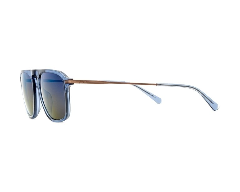 5d79fbe490 Gafas de sol Etnia Barcelona RODEODRIVE BLGD 54-17 Azul Bronce vista lateral