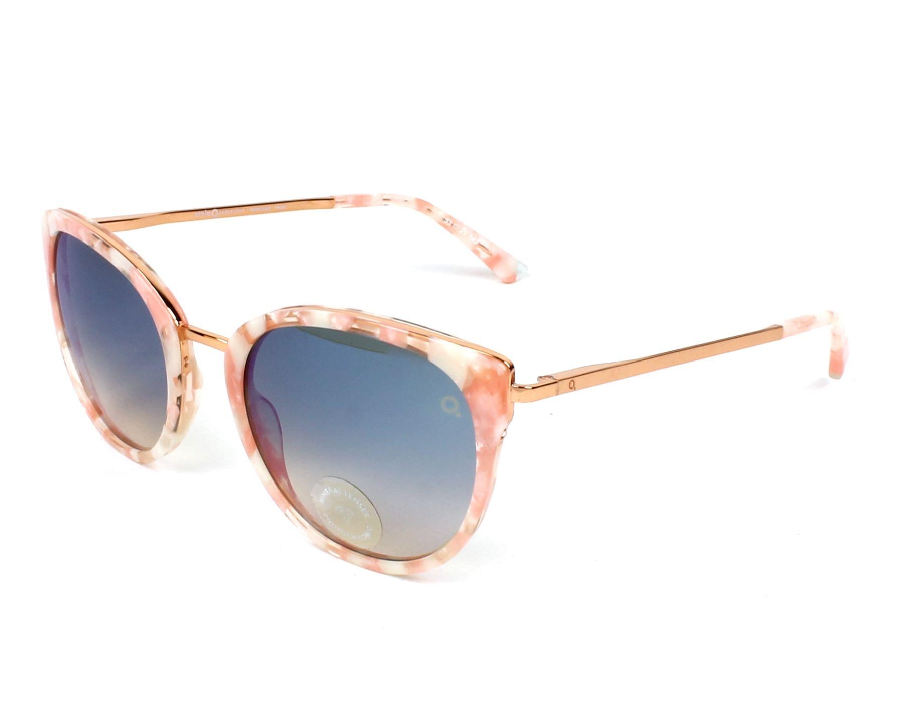 dd2454fc77 Gafas de sol Etnia Barcelona princesa PKSK - Rosa Oro cobre vista de perfil