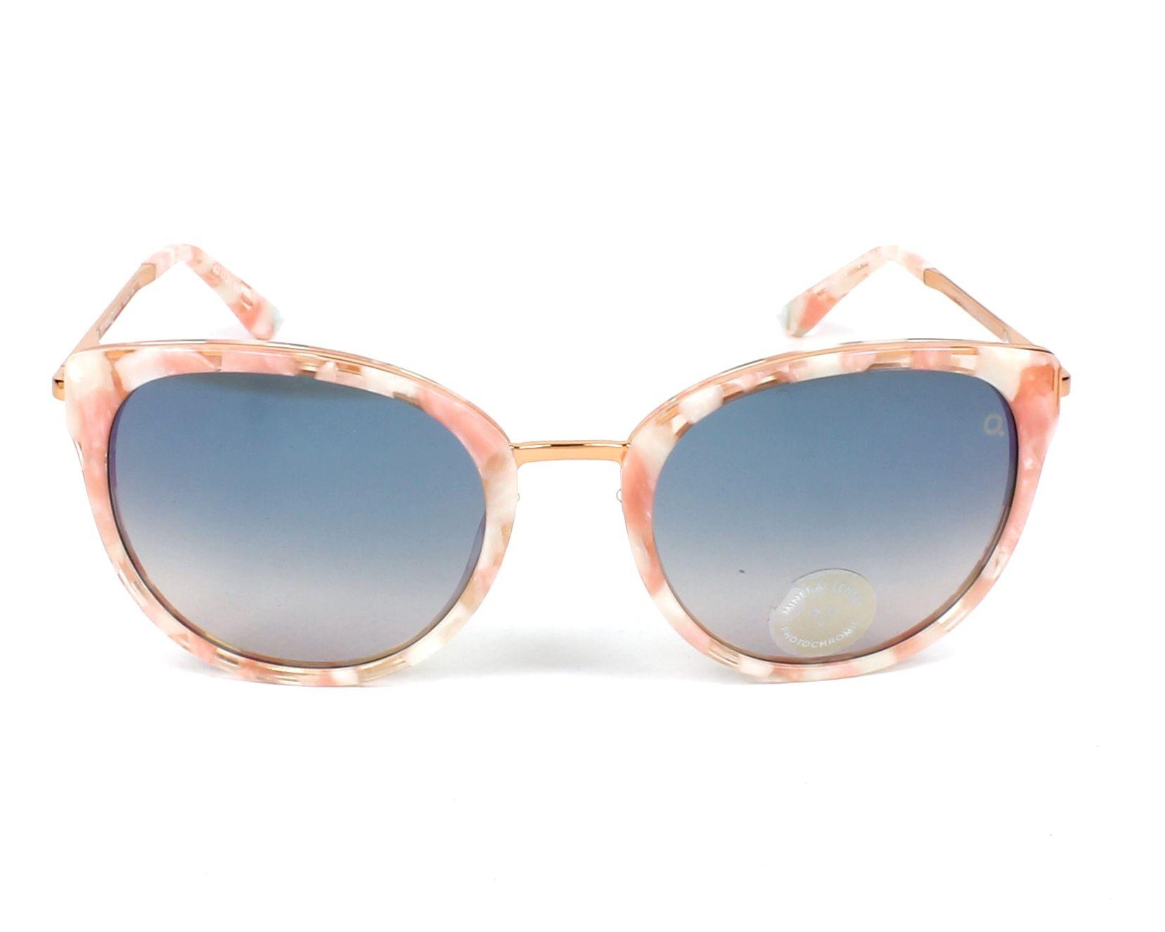 187b07a30f Gafas de sol Etnia Barcelona princesa PKSK - Rosa Oro cobre vista de frente