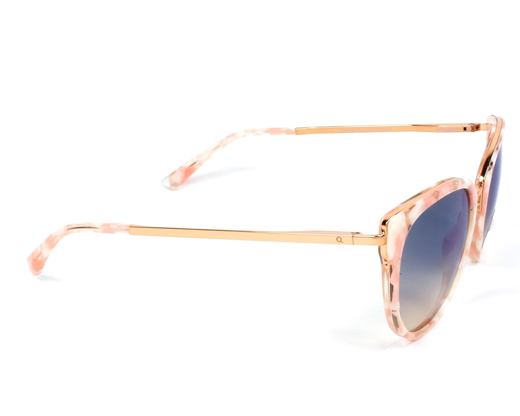 764265f316 Gafas de sol Etnia Barcelona princesa PKSK - Rosa Oro cobre vista lateral