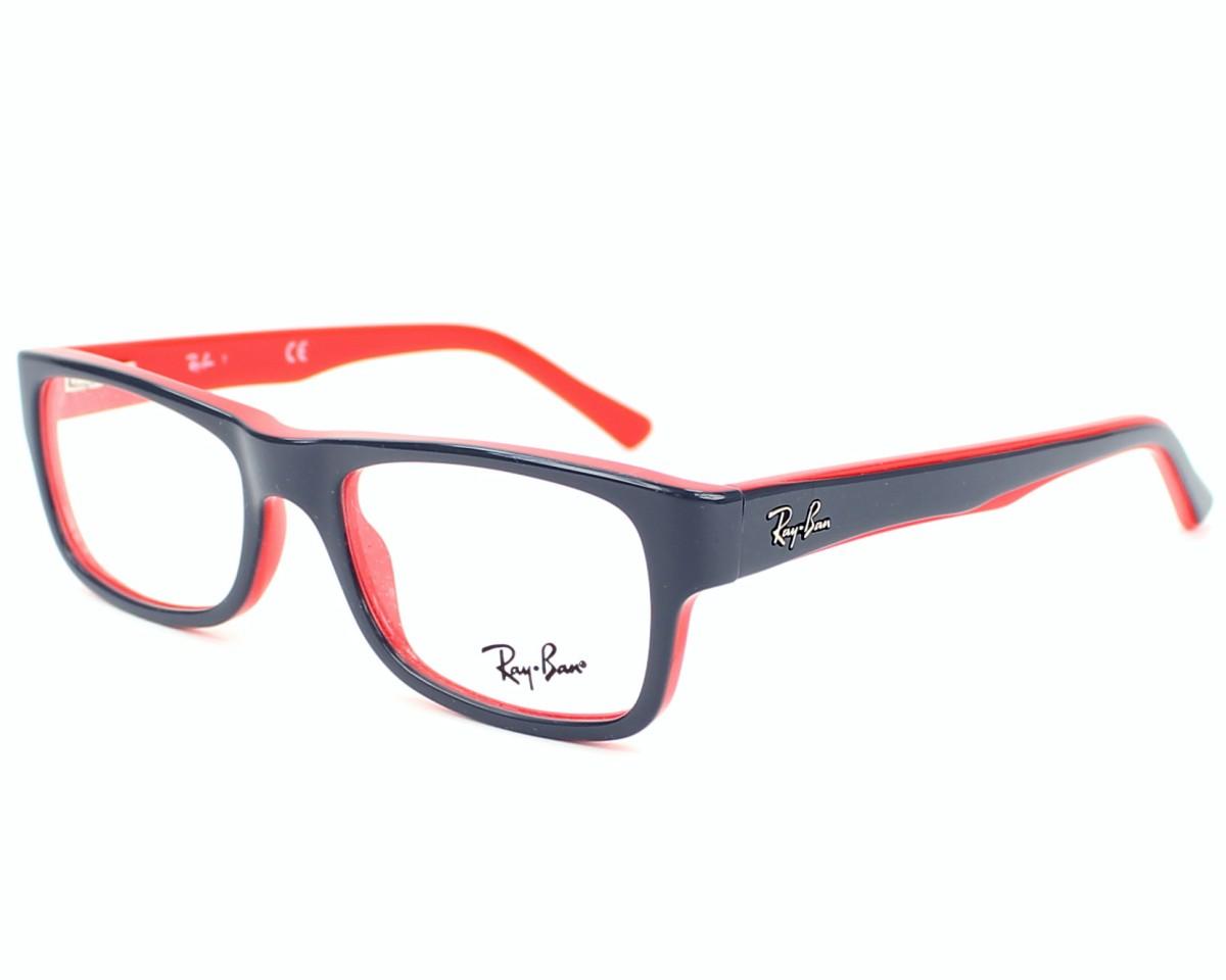 b8bf3d7c434a5 Gafas Graduadas Ray-Ban RX-5268 5180 - Gris Rojo vista de perfil