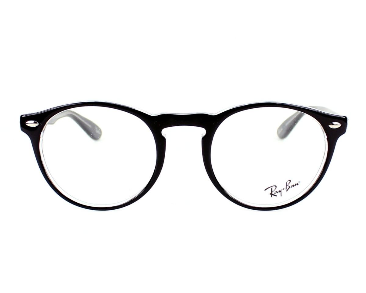 73d0b00788 Gafas Graduadas Ray-Ban RX-5283 2034 49-21 Negra vista de frente