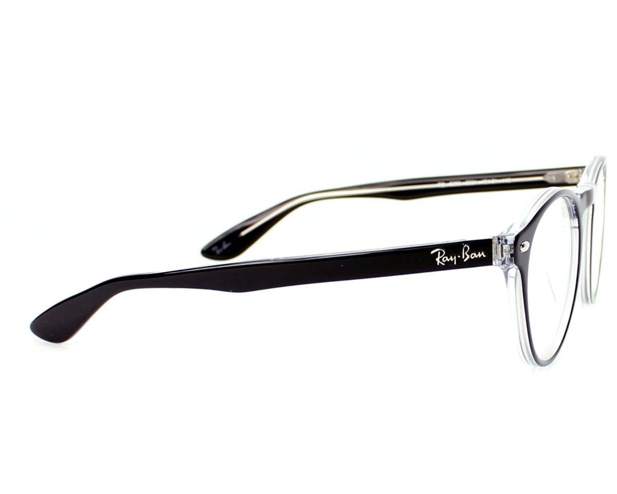 a9ecf9f05d Gafas Graduadas Ray-Ban RX-5283 2034 49-21 Negra vista lateral