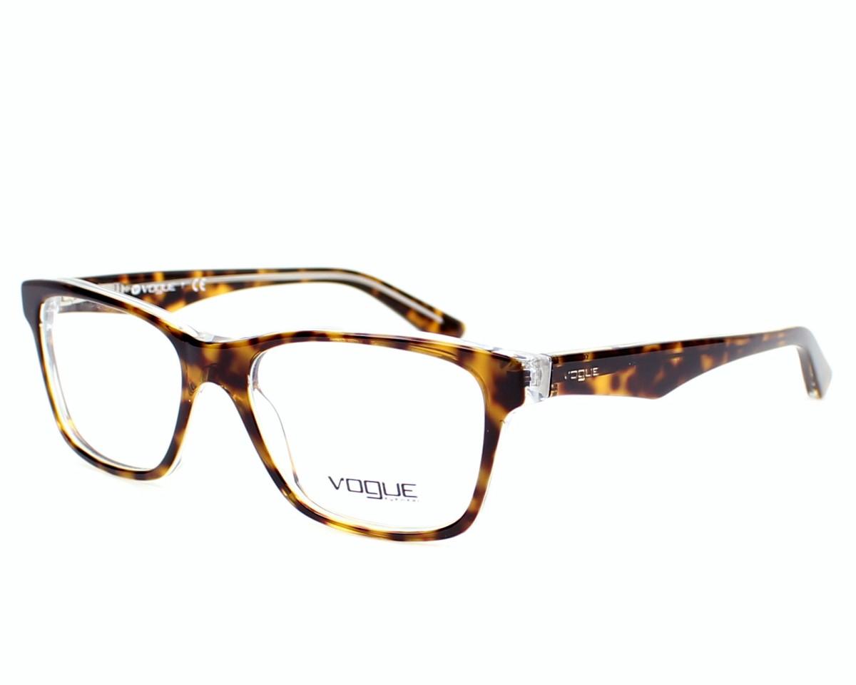 4065feb6b1 Gafas Graduadas Vogue VO-2787 1916 51-16 Havana Cristal vista de perfil