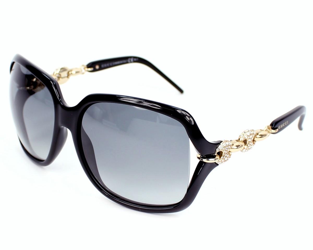8352d33e84 Gafas de sol Gucci GG-3584-NS REW/VK - Negra Oro vista