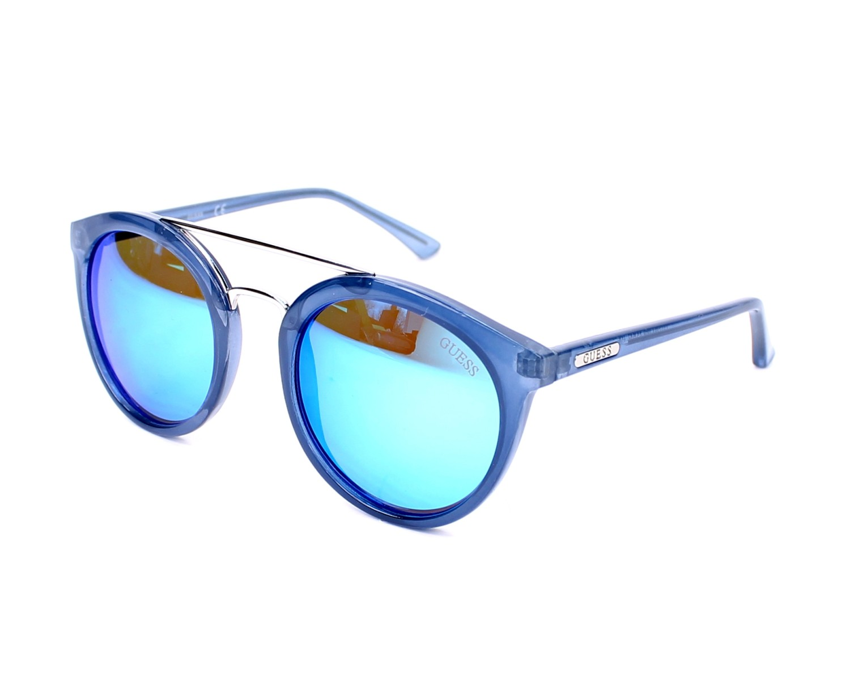 d7c279a9bb Gafas de sol Guess GU-7387 90X 52-21 Azul vista de perfil