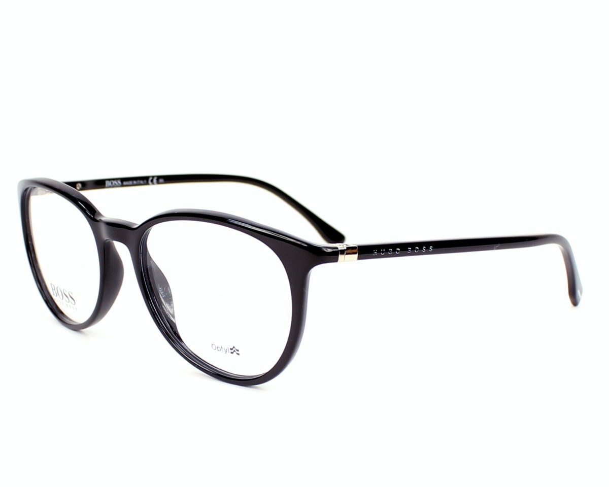 982d6695a Gafas Graduadas Hugo Boss BOSS-0714 807 - Negra vista de perfil